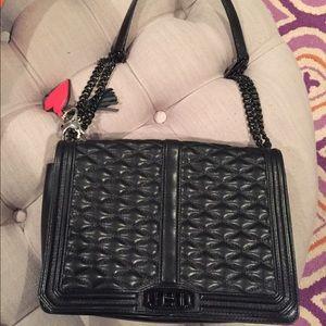 Rebecca Minkoff Black Love Jumbo Bag